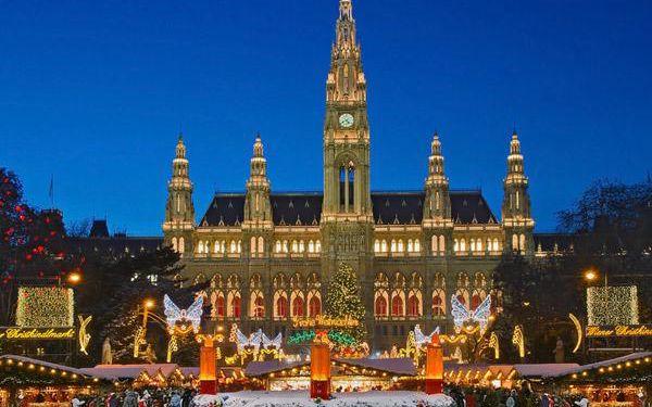 Adventní zájezd do Vídně na 1 den