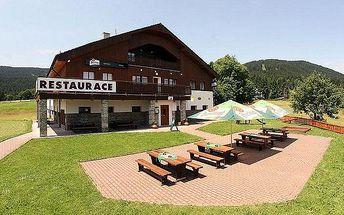 Až 6denní pobyt v hotelu Čertova chata*** na Šumavě pro dva se snídaní a saunou