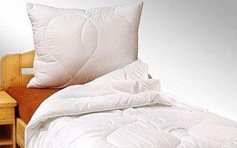 Antialergenní deka s polštářem