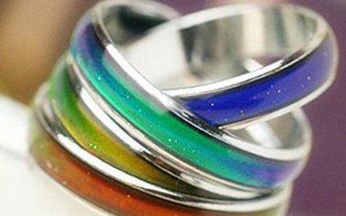 Retro prstýnek - ukazatel nálady!