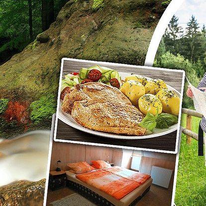 Relaxační pobyt pro dva na 3 dny v penzionu Kučera s polopenzí, welcome drinkem a dezertem.