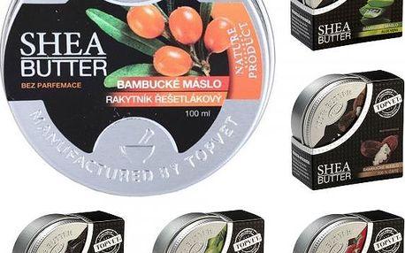 Bambucké máslo Shea Butter 100% 30 ml - vyzkoušejte blahodárné účinky na pleť!