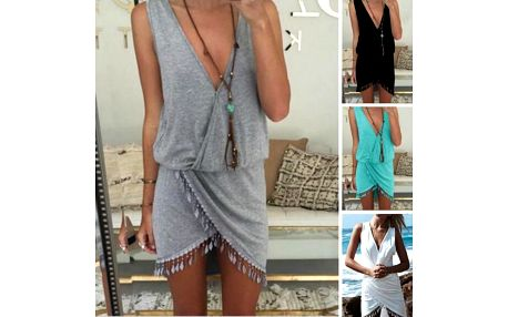 Plážové šaty s třásněmi Aisha!