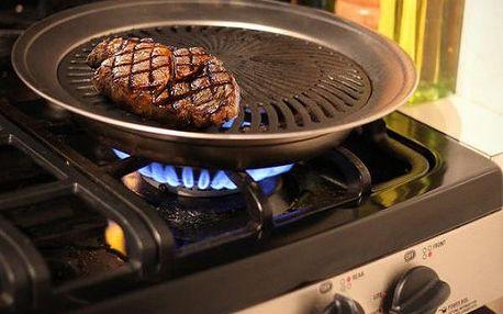 Domácí gril - pohodlné grilování doma v kuchyni!