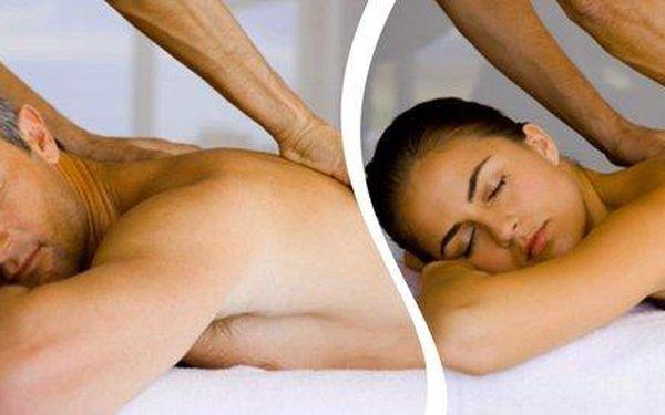 Uvolňující hodinová masáž - výběr až z 6 druhů