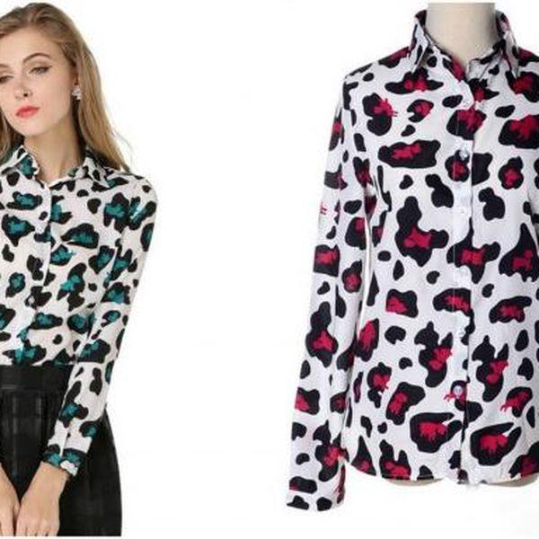 Dámská košile Leopard!
