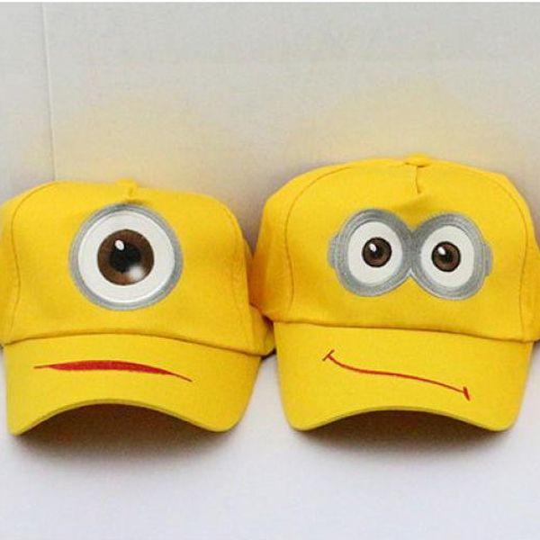 Žlutá kšiltovka Mimoň!