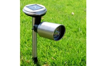 3 LED venkovní solární lampa s nastavitelnou svítilnou