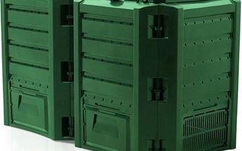 Kompostér JRK 800 Hobby Module, zelený