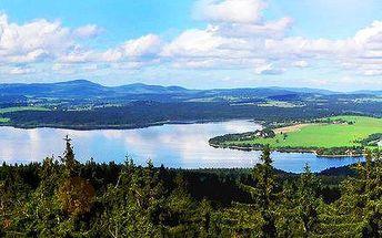 Bezvaný odpočinek přímo na břehu Lipenské přehrady