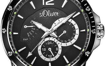 Pánské hodinky S.Oliver SO-2844-LM