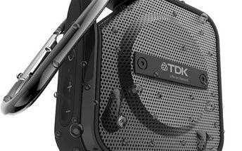 TDK A12, TREK Micro, bezdrátový vlhkuvzdorný reproduktor, bluetooth, černý