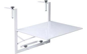 Hesperide balkónový stolek bílý