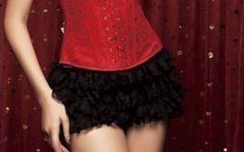 Dámský korzet B-Fashion M2196, červený
