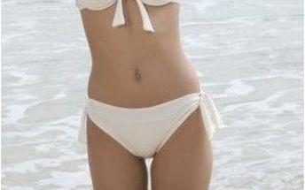 Dámské plavky B-Fashion bílé