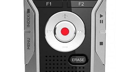 Stereo diktafon Philips DVT5000, s vestavěnou pamětí 4 GB