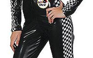 Dámský erotický kostým závodnice, černý
