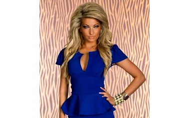 Dámský top B-Fashion, modrý