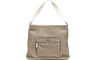 Elegantní tmavě béžová kabelka Alexia Hobo Bag Mud A110037302-473