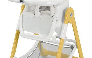 Dětská jídelní židlička Cam Campione 2014, col. 198, bílo-šedá