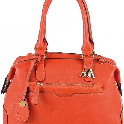 Elegantní oranžová kabelka 29603-62