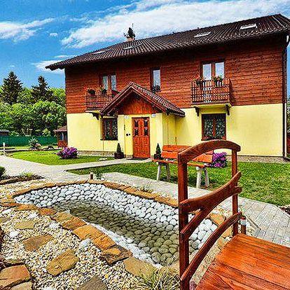 Až 6denní pobyt ve vile Horal v Nízkých Tatrách pro 2 osoby