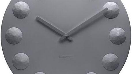 Nástěnné hodiny Leff LT70005, šedé