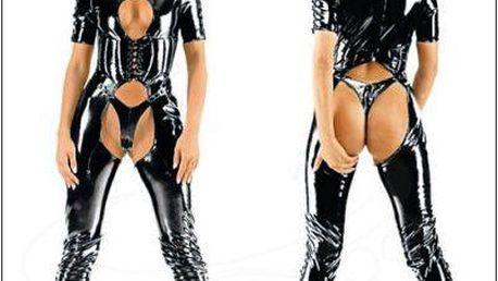Dámská sexy kombinéza B-Fashion, černá