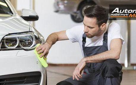 Ruční čištění auta nebo renovace laku od expertů
