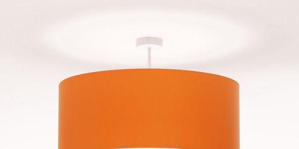 Stropní světlo Artist Cylinder Orange/White