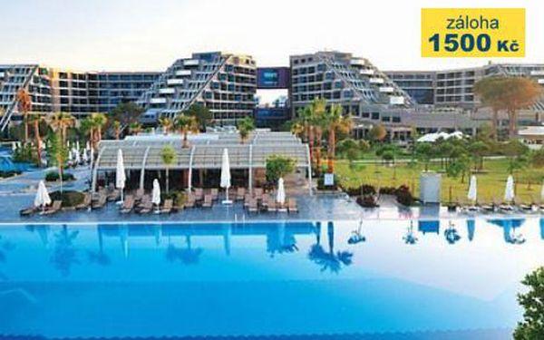Turecko, oblast Belek, doprava letecky, ultra All inclusive, ubytování v 5* hotelu na 15 dní