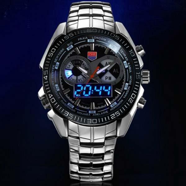 Nerezové pánské hodinky TVG s velkou slevou