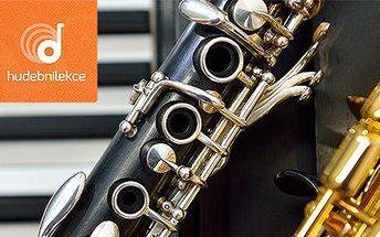 Lekce hudby (klarinet nebo saxofon) na Hradčanské