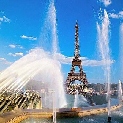 4denní zájezd do Paříže a Versailles