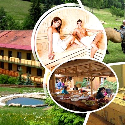 Pobyt v Beskydech pro 2 osoby na 3 dny v horském hotelu Kyčerka s polopenzí. Vhodné pro rodiny.