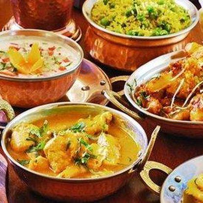 Volný výběr ze všech indických delikates v hodnotě 600 Kč