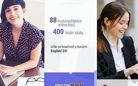 Roční online kurz cizího jazyka včetně certifikátu. Vše v pohodlí Vašeho domova!