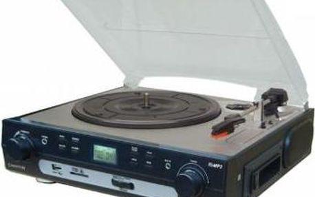 Mikrosystém s gramofonem jen za 2299 Kč