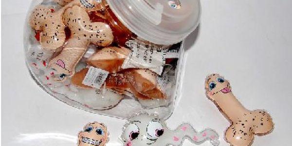 Mini sprchový gel pindík a spermie!