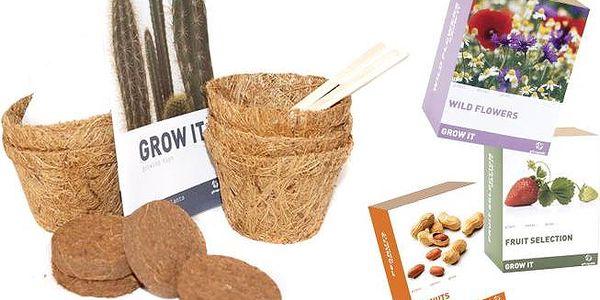 Vypěstujte si vlastní rostliny se sadami Grow it