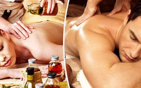 Hloubková masáž svalů - 60 nebo 90 minut