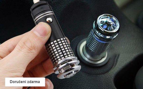 Ionizátor vzduchu do auta