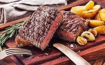 Steakové prkno plné šťavnatého masa + americké brambory