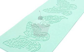 Silikonová šablona na jedlou krajku Motýl