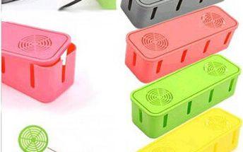 Úložný box na kabely ve 2 barvách