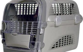 Přepravka CAT IT Design Cabrio šedá