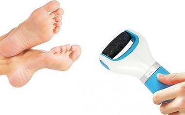 Hladká chodidla bez bolesti díky elektrickému pilníku na chodidla. Nyní si můžete upravit nohy v klidu domova během pár chvil.