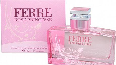 Gianfranco Ferré Rose Princesse - toaletní voda s rozprašovačem 30 ml
