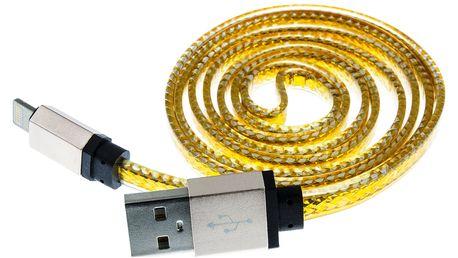 Datový kabel USB 2.0 pro iPhone, iPad a iPod