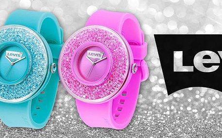 Barevné dámské hodinky Levis